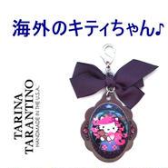 TARINA TARANTINO タリナタランティーノ アメリカ の キティ バッグホルダー NEW PINK HEAD HERITAGE XL BAG CANDY パープル ハローキティ