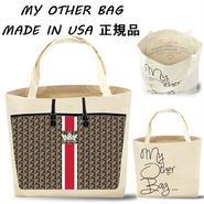 My Other Bag マイアザーバッグ トートバッグ エコ Sophia Crown ショッパーバッグ 布製 王冠 クラウン 鞄 海外 ブランド