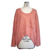 Finders Keepers オーストラリア ニット レディース トップス Finer Feeling Knit paraya XS クルーネック 長袖 ニットトップス ブランド