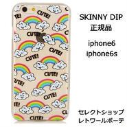 スキニーディップ SKINNYDIP IPHONE 6 6S GOOGLY RAINBOW CASE かわいい 目玉 正規品 海外 ブランド