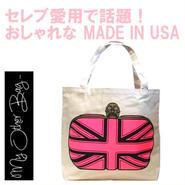 My Other Bag マイアザーバッグ アメリカ の トートバッグ ELIZABETH HOT PINK エリザベス ホットピンク バッグ キャンバス エコ 折り畳み 正規品 海外 ブランド