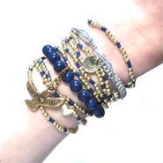 CATHAMMILL キャットハミル オーストラリア の ブレスレットセット coco bracelet set ネイビー お洒落 ブレスレッド アクセサリー ポーチ セット 海外 ブランド