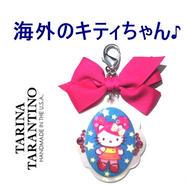 TARINA TARANTINO タリナタランティーノ アメリカ の キティ バッグホルダー NEW PINK HEAD HERITAGE XL BAG CANDY ピンク ハローキティ