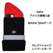 Valfre ヴァルフェー LIPSTICK 3D IPHONE 7PLUS CASE 立体 リップ 海外 ブランド