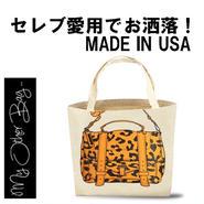 My Other Bag マイアザーバッグ アメリカ の トートバッグ EMMA CHEETAH ワイルド お洒落 プリント バッグ キャンバス エコ 折り畳み 正規品 海外 ブランド