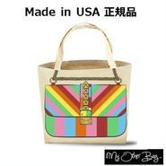 My Other Bag マイアザーバッグ アメリカ の トートバッグ ROXY RAINBOW bag レディース A4 入る キャンバス エコバッグ レジカゴ 折りたたみ ブランド