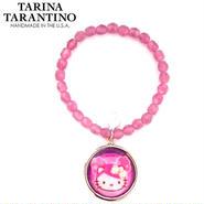 TARINA TARANTINO タリナタランティーノ コラボ キティ ブレスレット Hello kitty bracelet light amet  ハローキティちゃん 海外 ブランド