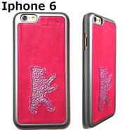 mabba マッバ ドイツ デザイン キュート 熊 さん iphone6ケース ドイツ レザー iphone 6 ケース 本革 カバー アイフォン ピンク ベース ベア 海外 ブランド