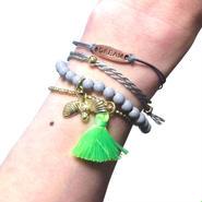 CATHAMMILL キャットハミル デラックス ブレスレットセット Deluxe Birdy Gold Set of 4 bracelet multi ブレスレッド 海外 ブランド