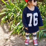 【kids】76ロゴワンピース