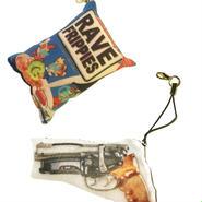 besidethebag key ring blaster gun & rave frippeies