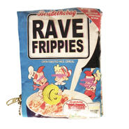 """besidethebag  """"rave fripperies mini pouch"""