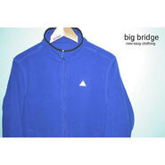 DSFリフレクションフリースjacket blue