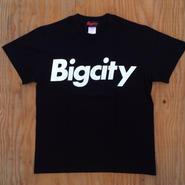 高木聖雄1040着用モデルBigcity logo s/stee BLACK