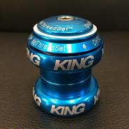 【限定】Chris King No Thred Set 1 1/8  Limited  Turquoise