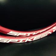 "SPANK  SPIKE RACE EVO 28 27.5"" 2本セット"