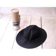COMESANDGOES :LINEN DENIM BALOON HAT