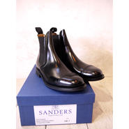 SANDERS :MILITARY CAP TOE CHELSEA BOOTS