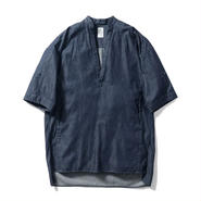 Name. : 6oz DENIM TUNIC SHIRT