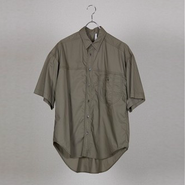 HUMIS : BIG SILHOUETTE TRANSFORMED SHORTSLEEVED SHIRT