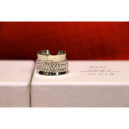 Name. x poda SILVER RING (THICK)