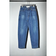 JANE SMITH : HIGH WAIST SLIM VINTAGE WASH