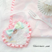 Heart  heartなお食事セット(ピンク)