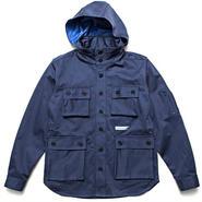【wisdom】M-65 LS Shirt(BLUE)