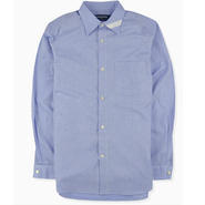 【PHINGERIN】PLAIN COLLAR SHIRT CB CLOTH(BLUE)