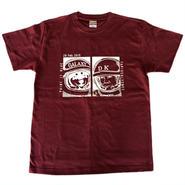 片岡大志「ギャラクシー」Tシャツ(バーガンディ3500)