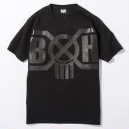 BxH Spot BK/BK Logo Tee