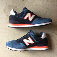 "[NewBalance] Connoisseur Painters ""US574BL"" Made in USA -blue×orange×white- (¥25,000-+tax)"