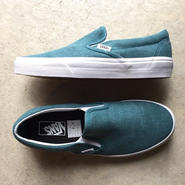 "[VANS] ""Classic Slip-On"" Washed -Shaded Spruce/blue- (¥8,000-+tax)"