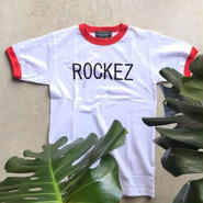 "[ THE ROCKEZ ] ""RING TEE"" -RED×WHITE- (¥4,200-+tax)"