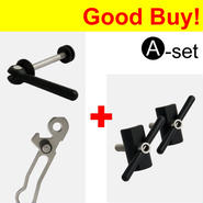 【オンラインストアー限定】Seat Clamp Quick Release & Rear Frame Clip & Hinge Clamp  Set