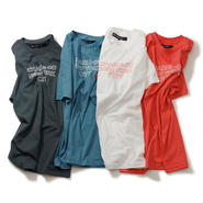 TEE LINE TEXT LOGO Tシャツ 4 COLORS