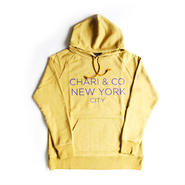 CHARI & CO - GOTHAM LOGO PULL OVER HOOD PARKA GLASS YELLOW