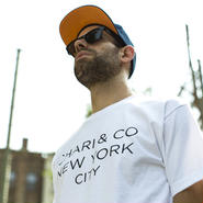 CHARI & CO - GOTHAM LOGO TEE BLACK