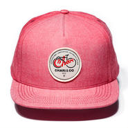 CHARI & CO NYC - OG SCRIPT PATCH SNAPBACK STATIC RED
