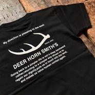 DEER HORN SMITH'S  / ロゴTシャツ