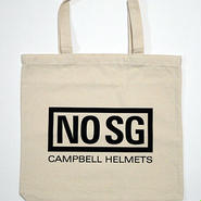Campbell Helmets キャンバストートバッグ NO SG