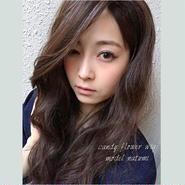 natumiさん着用♡かきあげ前髪風ふかし加工ルーズカールウィッグ