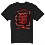 HUF606 HUF ハフ ケビンライオンズ サンフランシスコ Tシャツ ブラック KEVIN LYONS SF TEE BLACK