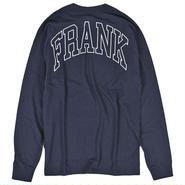FRK422 「FRANK」 フランク × チャンピオン チームオンマイバック ロングスリーブ Tシャツ ネイビー