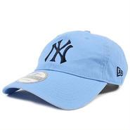 92C77 NEWERA ニューエラ 920 コットンローキャップ ヤンキースシリーズ スカイブルー WASHED COTTON 9TWENTY CAP YANKEES(MLB) 11322587