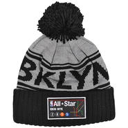 MNS281 MITCHELL&NESS NBA NYC ALL STAR GAME POM POM KNIT CAP ミッチェル&ネス NYC オールスターゲーム ボンボンニットキャップ