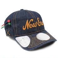 GOLF279 NEWERA GOLF ニューエラ ゴルフライン デニム オンパー 920 キャップ ネイビー/コッパー