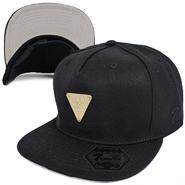 7UN333 7UNION 3RD EYE STRAPBACK CAP 7UN-702 S BLACK セブン ユニオンサードアイ メタル ストラップバックキャップ グレーバイザー ブラック