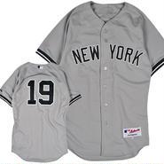 MJ07 MAJESTIC マジェスティック 田中将大 オーセンティック #19 ベースボールシャツ ヤンキース (MLB) AUTHENTIC JERSEY #19 TANAKA