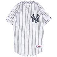 MJ06 MAJESTIC マジェスティック 田中将大 ベースボールシャツ ヤンキース (MLB) AUTHENTIC JERSEY #19 TANAKA YANKEES